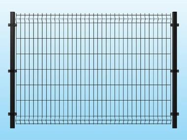 Recinzione modulare in rete elettrosaldata ECO VERDE By Ferro Bulloni