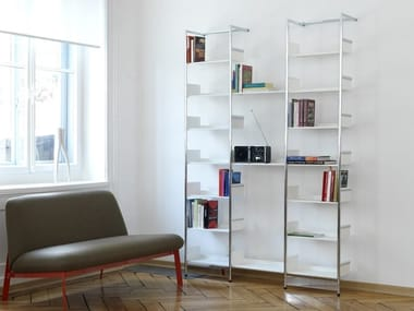 Librerie in acciaio cromato archiproducts