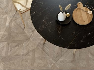 Porcelain stoneware wall/floor tiles with wood effect MEET ALLURE AZEL