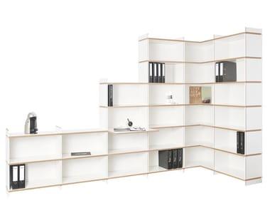 Freestanding shelving unit MEHRFACH