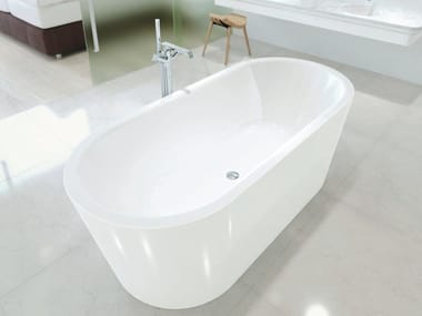 Freestanding oval bathtub MEISTERSTÜCK CLASSIC DUO OVAL