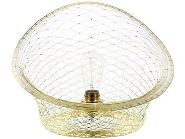 Lampada da tavolo in ottone MELAMP AURORA 40 - BOWL | Lampada da tavolo