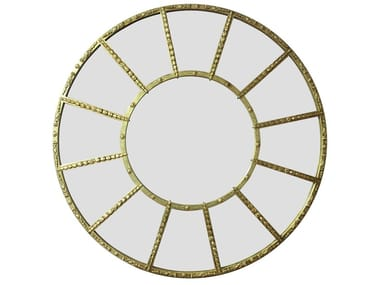 Round wall-mounted mirror MELODIE