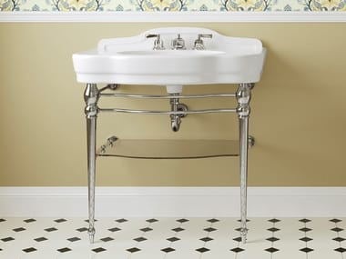 Console ceramic washbasin MELODY JUNIOR