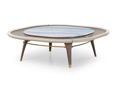 Square coffee table MELTING LIGHT | Coffee table