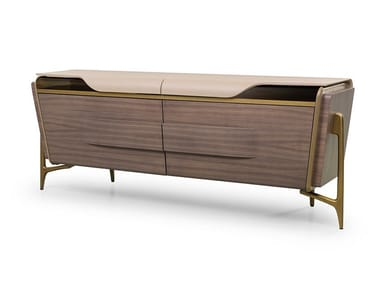 Sideboard with doors MELTING LIGHT | Sideboard