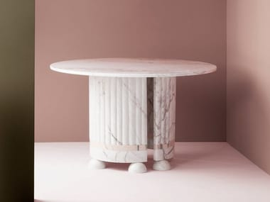 Round marble table MEMPHIS