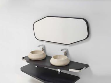 Wall-mounted bathroom mirror MEN{H}IR L | Mirror