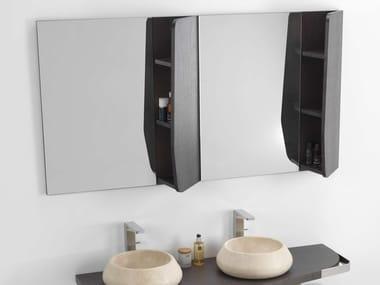 Wall-mounted bathroom mirror MEN{H}IR | Rectangular mirror