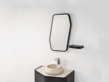 Wall-mounted bathroom mirror MEN{H}IR S | Mirror
