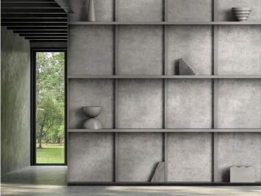 Papel de parede ecológico de tecido não tecido MENUISERIE