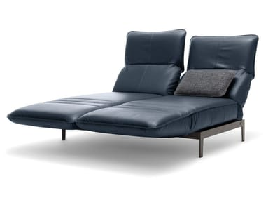 Chaise longue in pelle ROLF BENZ 386 MERA | Chaise longue