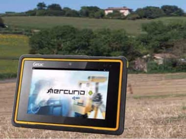 Topographic surveying mobile device (palmtop) MERCURIO