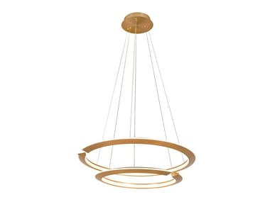 LED steel pendant lamp MERILIN