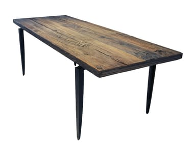Rectangular wooden dining table MESA 90 | Dining table