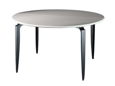 Folding round table MESA LIB D130 | Folding table
