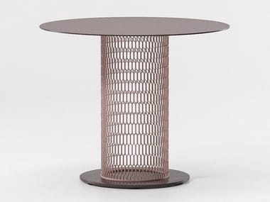 Aluminium garden table MESH | Aluminium table