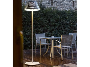 Contemporary style LED aluminium Floor lamp MESH XL | Floor lamp