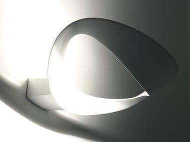 Lampada da parete a luce indiretta in alluminio pressofuso MESMERI