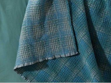 Colcha tartán de lana MET