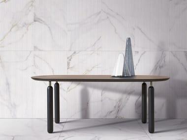 Rivestimento in gres porcellanato effetto marmo METAFISICO - SEAMLESS