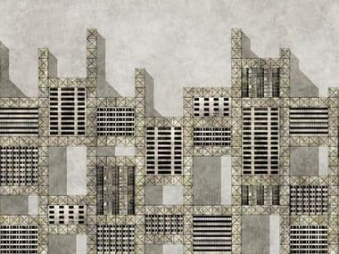 Papel de parede METALLIC CITY