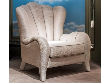 Exceptional Classic Style Upholstered Armchair METAMORFOSI | Upholstered Armchair