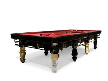 Rectangular wooden pool table METAMORPHOSIS | Pool table