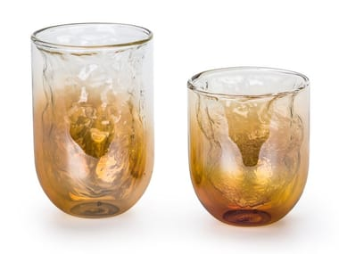 Set of 6 glasses METEORITE