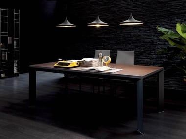 Tavoli Allungabili In Alluminio.Tavoli Allungabili In Alluminio E Legno Archiproducts