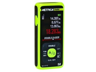 Distanziometro laser METRICA DOUBLE LASER 50