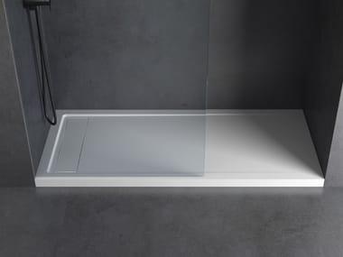 Rectangular Solid Surface shower tray METRO