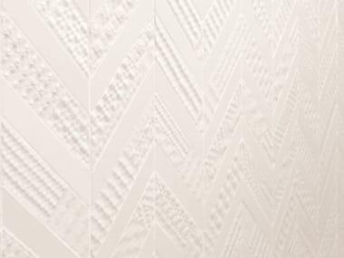 Rivestimento in ceramica a pasta bianca METROCHEVRON