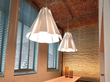 LED aluminium pendant lamp METRONOME XXL