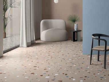 Pavimento/rivestimento in gres porcellanato NUANCES CIPRIA