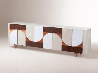 Wooden sideboard METROPOLIS