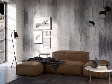 Decorative painting finish with concrete effect METROPOLITANO