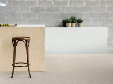 Porcelain stoneware wall/floor tiles MEWS CHALK