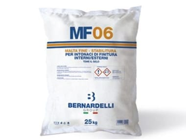 Hydraulic and hydrated lime based plaster MF06