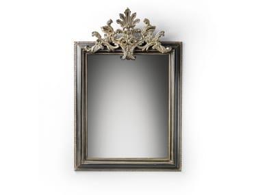 Rectangular wall-mounted framed mirror MG 5301