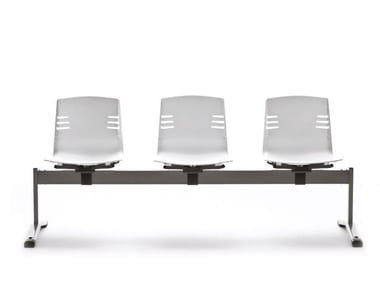 Beam seating with writing tablet MIA BENCH
