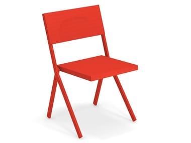 Stackable steel garden chair MIA | Chair