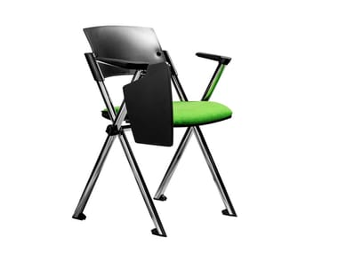Stackable training chair with writing tablet MIAMI