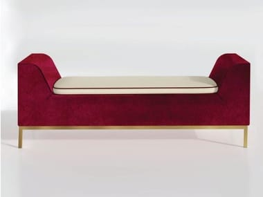Upholstered velvet bench MIAMI