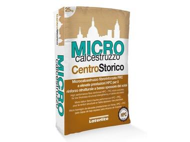 Microcalcestruzzo fibrorinforzato per rinforzo strutturale MICRO CALCESTRUZZO CENTROSTORICO