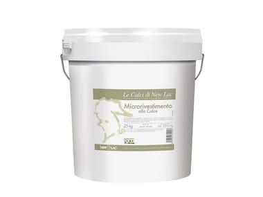 Intonachino minerale a grana fine MICRORIVESTIMENTO ALLA CALCE BIANCO