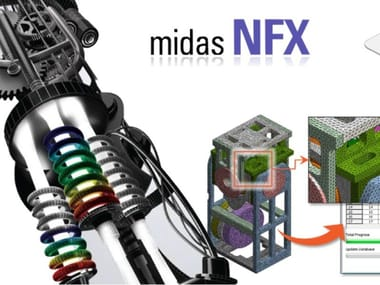 CAD-integrated structural calculation software MIDAS NFX