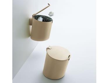 Multi-layer wood bathroom waste bin MIDI BASKET
