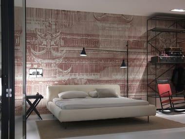 Nonwoven wallpaper strip MIKADO