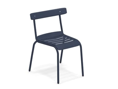 Stackable steel garden chair MIKY | Chair